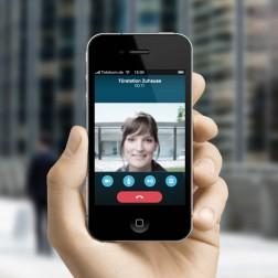 Mobile Türkommunikation via Skype