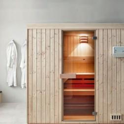 Auf-und Vorheiz-Zeiten bei Sauna, Infrarot und Dampfbadkabinen