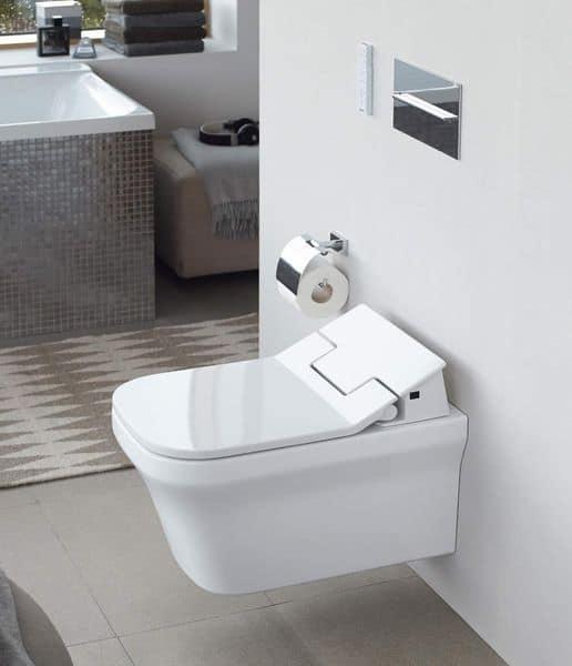 Ein Aufsatz Dusch WC